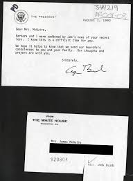 while chairman of the dade county republican party mr bush wrote the white house to invite newly re elected president reagan to speak at an event