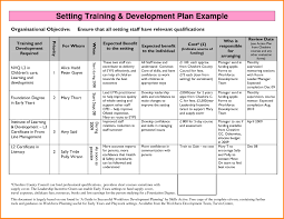 Professional Development Plan Professional Development Plan Template School Intended For Practical 3
