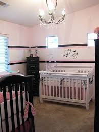 Jeannett created this nursery for her twin baby girls. She coordinated the  crib bedding w.