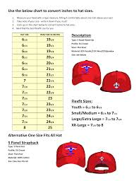 Use The Below Chart To Convert Inches To Hat Sizes 7 23 8