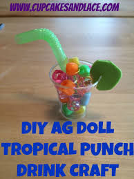 american girl doll pretend food crafting project for you in this article cupcakesandlace com