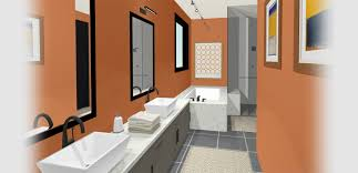 master bath with multiple sinks and a marble bath