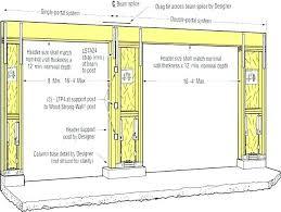 heavenly 16 foot garage door header