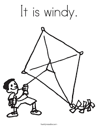 Small Picture Lets Fly a Kite Coloring Page Twisty Noodle