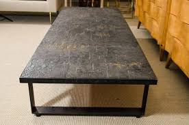 Slate top coffee table Evans Brutalist Slate Top Coffee Tables Minimalist Living Room Design With Black Slate Top Coffee Table With Black 4sqatlcom Slate Top Coffee Tables Minimalist Living Room Design With Black