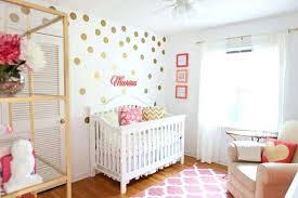 Baby Girl Nursery Wallpaper Room Idea .