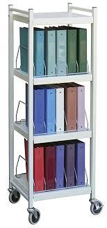 Chart Shelves Amazon Com Mini Open Chart Rack 4 Shelves 15 Binder