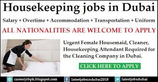 Cleaning Company Jobs Housekeeping Jobs In Dubai For A Cleaning Company Urgent Female