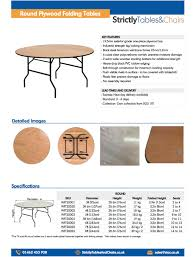 round tables for