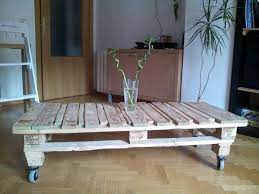 diy pallet coffee table with storage