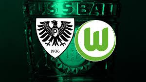 Herzlich willkommen beim tc preußen münster. Preussen Treffen Auf Den Vfl Wolfsburg Sc Preussen Munster
