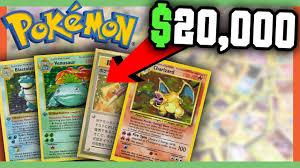 rare pokemon cards worth money most valuable pokemon cards