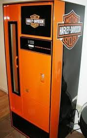 Harley Davidson Vending Machine Mesmerizing 48's Harley Davidson Themed Beer Soda Pop Vending Machine