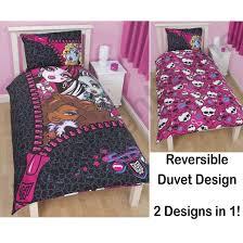 queen size monster high bedding designs