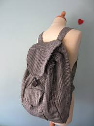 rectangular backpacks by petit a petit