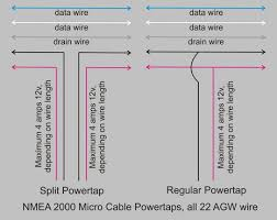 the marine electronics hub nmea power problem part  n2k powertap diagram cjpg