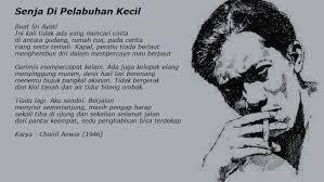 Chairil Anwar: Sang Penyair Cerdas yang Semasa Hidupnya Penuh Derita