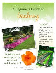 ebook a beginners guide to gardening