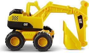 Caterpillar 82035 <b>Plastic</b> Articulated Cat <b>Excavator</b> 38 cm Yellow ...