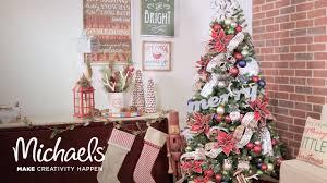 christmas tree decor time lapse michaels