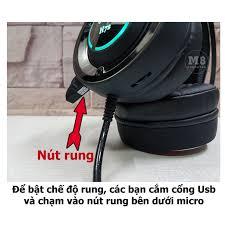 Tai nghe Gaming G-Net H7S Có Rung, Led 7 màu