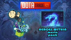 heroes within music pack dota 2 youtube
