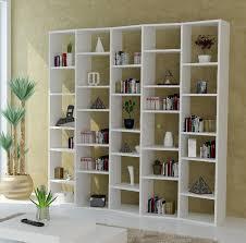 White modern bookshelf Elegant Bookshelf Outstanding Modern Shelving Units Mid Century Allmodern Bookshelf Outstanding Modern Shelving Units Mid Century White