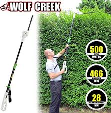 Wolf Creek Electric Hedge Trimmer - <b>HT50</b> Telescopic Pole Long ...