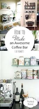 Bar Accessories And Decor Home Coffee Bar Accessories How To Make An Awesome Coffee Bar At 80