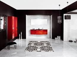 How To Decorate With Red Black And White