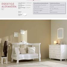 Non Toxic Bedroom Furniture Baby Cot By Pali Available In White Colour Provides A Modern And