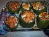 south beach  stuffed bell peppers