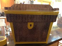 treasure chest out of styrofoam cooler light weight