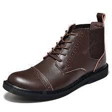 boots men boots men s boots real leather boots high shoes men s british vintage boots autumn desert boots men s shoes gearbest