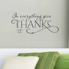 in everything give thanks christian jesus vinyl quotes wall sticker diy art living room decals home black characters decorations in wall stickers from home  on christian vinyl wall art quotes with in everything give thanks christian jesus vinyl quotes wall sticker