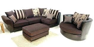 brown corner sofa with swivel chair corner sofa with cuddle chair brand new modern corner swivel