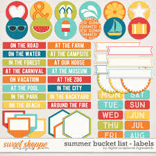 Summer Word List Sweet Shoppe Designs Making Your Memories Sweeter