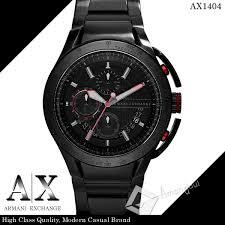 amonduul rakuten global market in armani birthday present in armani birthday present christmas for armani exchange armani exchange watch men ax1404 chronograph black x