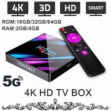 4K Android HD TV Box 5G WiFi / 4K / 3D Smart TV Box Streaming Network Media  Player Android 9.0 4K TV Box 2 / 4GB RAM 16/32 / 64GB ROM اختياري 2021 من  mingfeng88, 141.16ر.س
