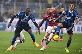 Romelu Lukaku Inter Hakan Calhanoglu Milan Matias Editorial Stock Photo -  Stock Image