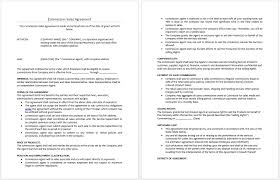 47 Fresh Sales Agency Agreement Template Free Damwest Agreement