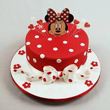 Red Minnie Mouse Cake Kinds Of Cakes Onteevocom