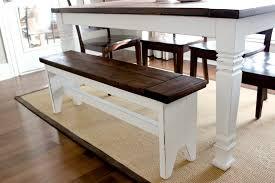 easy diy farmhouse table. diy farmhouse bench - step 4 easy diy table
