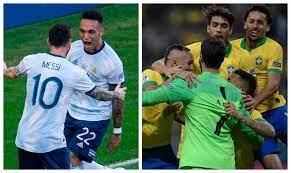 الارجنتين والبرازيل لايف .. رابط مشاهده مباراة البرازيل والارجنتين بث مباشر  يلا شوت يلا كوره
