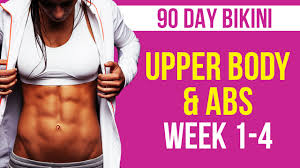 90 day upper body abs week 1 4