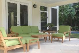luxurious 7 piece teak sofa set sofa 2 lounge chairs 2 ottomans