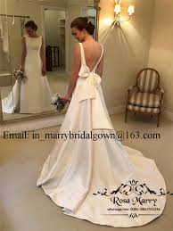 Sexy Backless Plus Size Mermaid Wedding Dresses 2019 Cheap Long White Satin Knot Bow Greek Arabic Country Beach Wedding Bridal Gowns Sexy Lace Wedding
