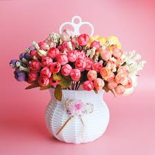1 <b>букет</b>, 36 маленьких бутонов, искусственные <b>цветы</b>, шелковые ...