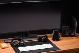 Furniture office workspace cool macbook air Mockup The Apple Laptop Power User Jestpiccom The Best Apple Desk Setups For Every Person Gear Patrol