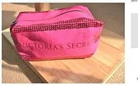 victoria s secret pink sequin cosmetic bag makeup bag